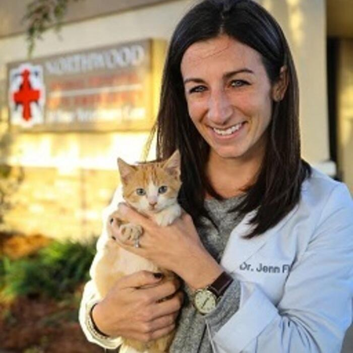 Jennifer Fleck, DVM</br> Associate Veterinarian  photo